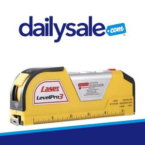 62% Off Measuring Tape with Horizontal Laser Line
