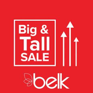 Extra 20% Off Regular & Sale Big & Tall Purchases