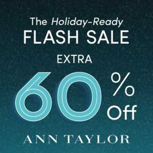 Ends 12/6: Extra 60% Off Sale Styles + 40% Off Full Price Styles