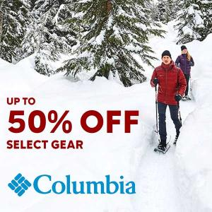 Up to 50% Off Select Gear