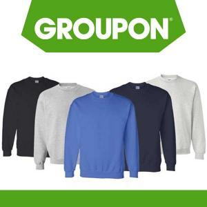 43% Off Gildan Men's Heavyweight DryBlend Pullover Sweatshirt