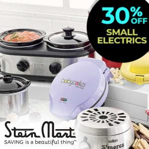 30% Off Small Electrics