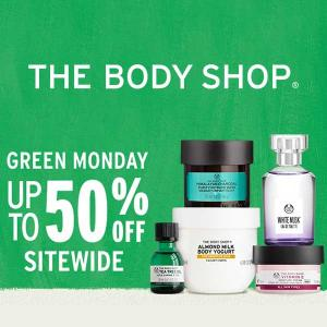Green Monday: Up to 50% Off Sitewide