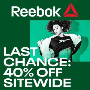 Last Chance: 40% Off Sitewide