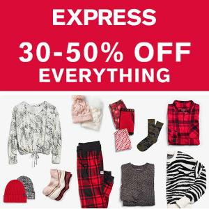 30-50% Off Everything + Doorbusters
