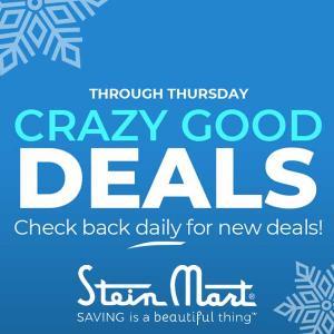 Crazy Good Deals Until Thursday