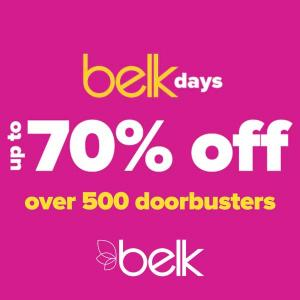 Up to 70% Off Over 500 Doorbusters