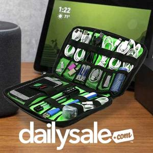 59% Off SpaceSaver Water-Resistant Travel Bag Organizer
