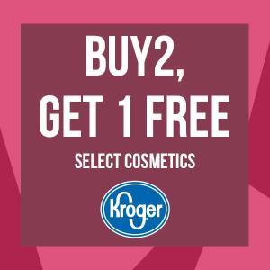 Buy 2, Get 1 Free Select Cosmetics