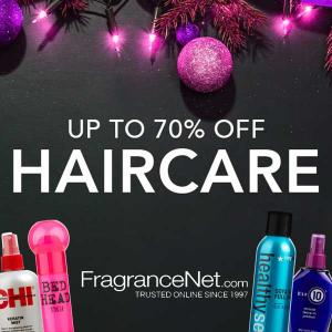 Up to 70% Off Hair Care Products