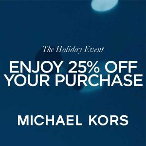 25% Off Purchase + New Markdowns Added
