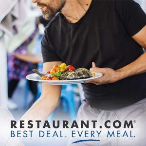 4 $25 Restaurant.com Cards for $20