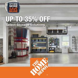 Up to 35% Off Select Storage Solutions