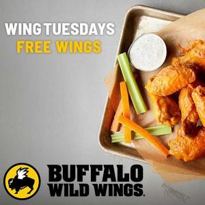 BOGO Free Wings on Tuesdays
