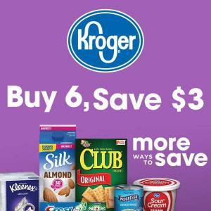 Buy 6, Save $3