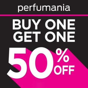 BOGO 50% Off Fragrance