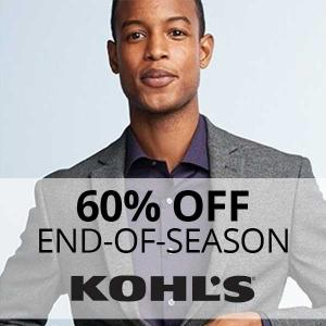End of Season Sale: Up to 60% Off Select Men's Clothing