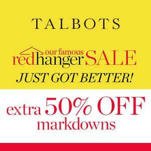 Extra 50% Off on Markdowns