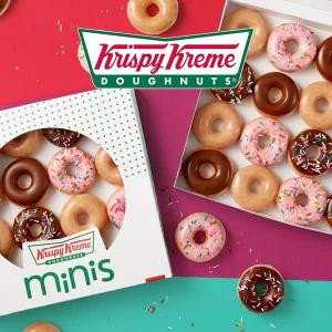 Free Krispy Kreme Mini Doughnuts Every Monday in January