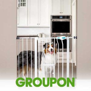 40% Off Carlson Extra Wide Pet Gate w/ Door