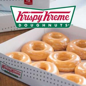 Free Dozen Original Glazed With Any Dozen Purchase
