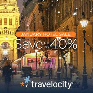 Up to 40% Off January Hotel Sale