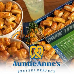 Auntie Anne's Game Day Snacks