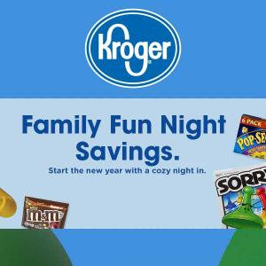 Family Fun Savings Night