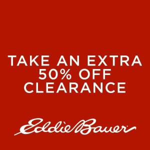 Extra 50% Off Clearance Items