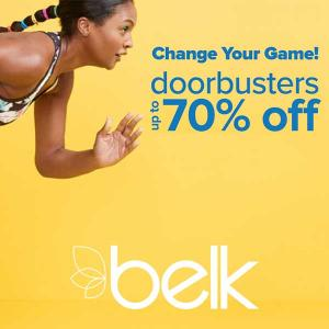 Up to 70% Off Doorbusters