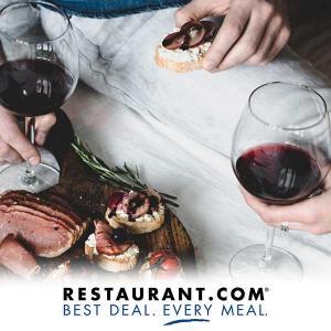 4 $25 Restaurant.com Cards for $19