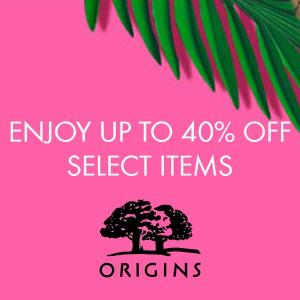 Up to 40% Off Select Items