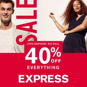 [Ends 1/20] 40% Off Everything + Doorbusters