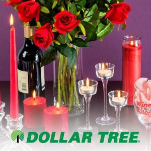 $1 Valentine's Day Candles, Candleholders, & More