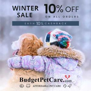 10% Off All Orders + 10% Cashback in Winter Sale