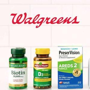 BOGO Free & BOGO 50% Off Supplements