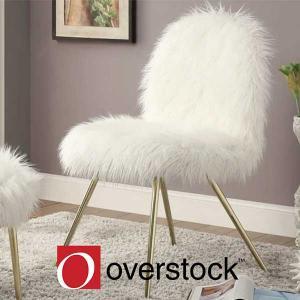 $33.50 Off Furniture of America Kene Modern Accent Chair