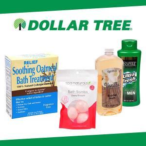 $1 Body Wash, Scrubs & Salts