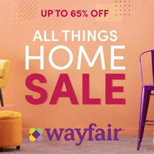 Up to 65% Off All Things Home Sale