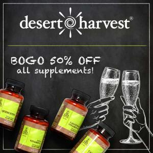 BOGO 50% Off Nutritional Supplements