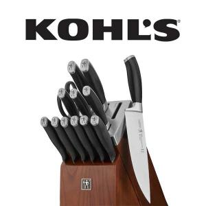 $40 Off Henckels Elan Self-Sharpening Knife Block Set