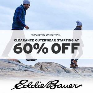 Clearance Outerwear Starting at 60% Off