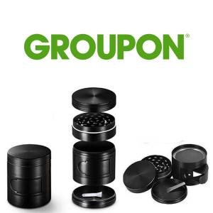 69% Off Titanium Herb Grinder with Side Opening