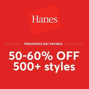 50%-60% Off on Over 500 Styles