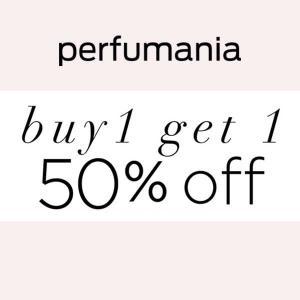 BOGO 50% Off Select Fragrance