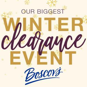 50% to 85% Off Ticketed Prices in Winter Clearance