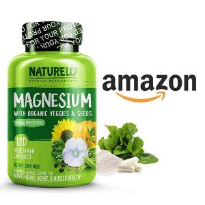 15% Off Naturelo Magnesium Glycinate Supplement