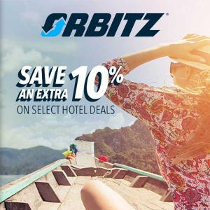 Extra 10% Off Select Hotel with Code