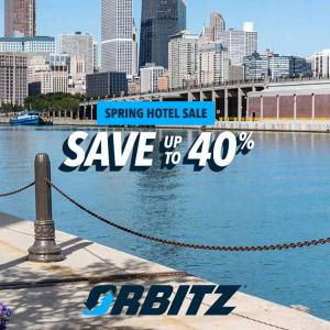 Up to 40% Off Spring Hotel Sale