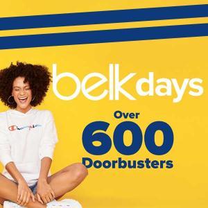 Over 600 Doorbusters in Belk Days Sale